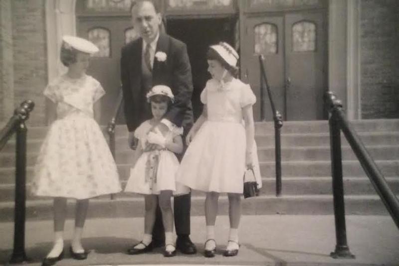 Dad Bill's wedding