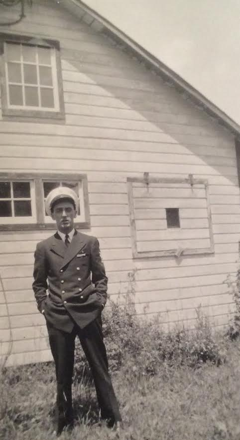 Dad Navy uniform