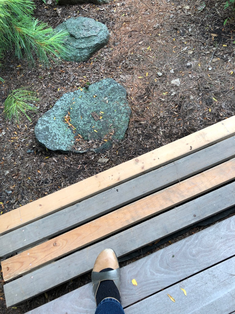 Deck step east 2